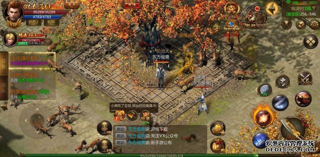 传奇游戏之英雄合击版本,新手玩家攻略,复刻经典端游传奇